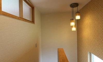 M's residence (階段室)