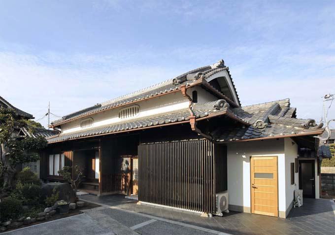 奈良宝来の家の写真 外観
