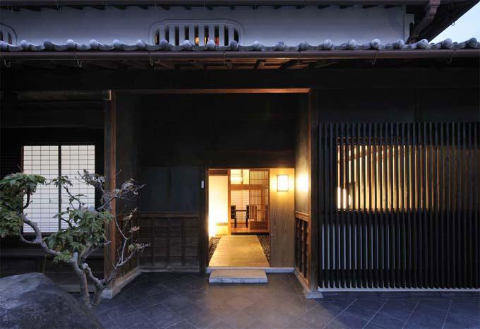 奈良宝来の家 (玄関)