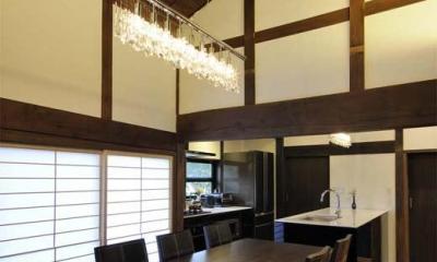 奈良宝来の家 (LDK)