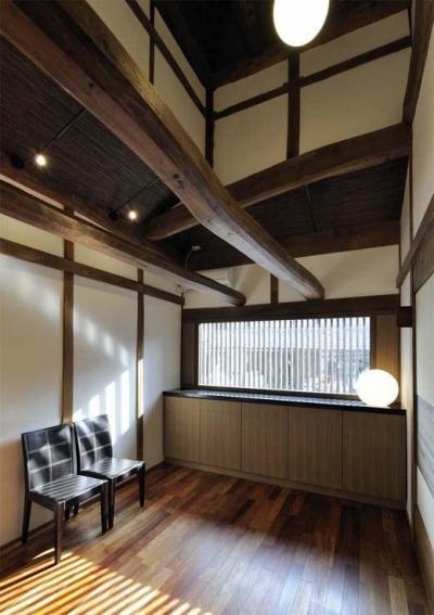 板間 (奈良宝来の家)