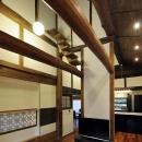 奈良宝来の家の写真 リビング