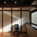 奈良宝来の家の写真 板間