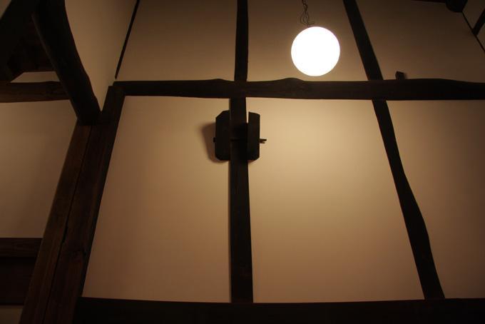 奈良宝来の家の写真 白壁