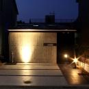 内記の家 其の二の写真 外観 (夜景)