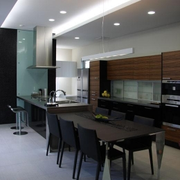 桃山の家-ダイニングキッチン