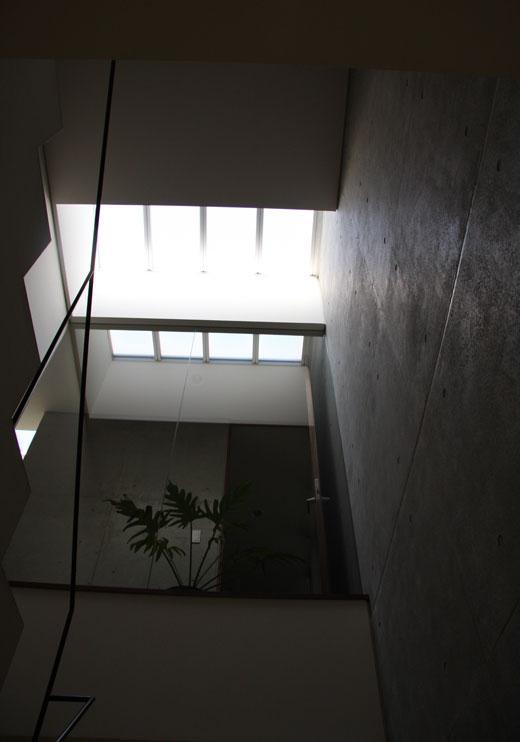 桃山の家の部屋 トップライト