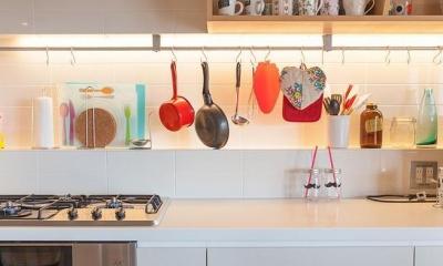 Stich —異なる素材をパッチワークのようにつなげて (キッチン)