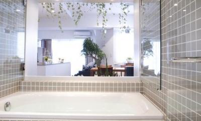 KEIDAS—光と風と緑があふれるオアシス (バスルーム)