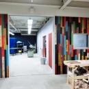 フォレストフィーリングの住宅事例「Makers' Base 木工部屋 刺激を与える壁作り」