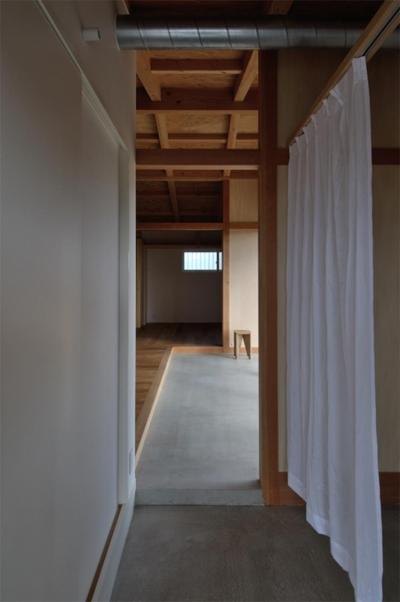 上保の家 (玄関)
