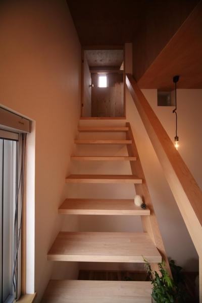 階段 (9坪とロフトのおうち)