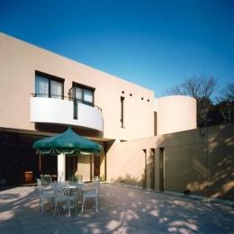 巣鴨の家 (中庭)