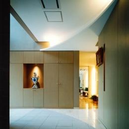 巣鴨の家 (玄関)