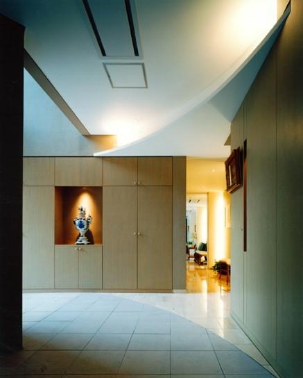 巣鴨の家の部屋 玄関