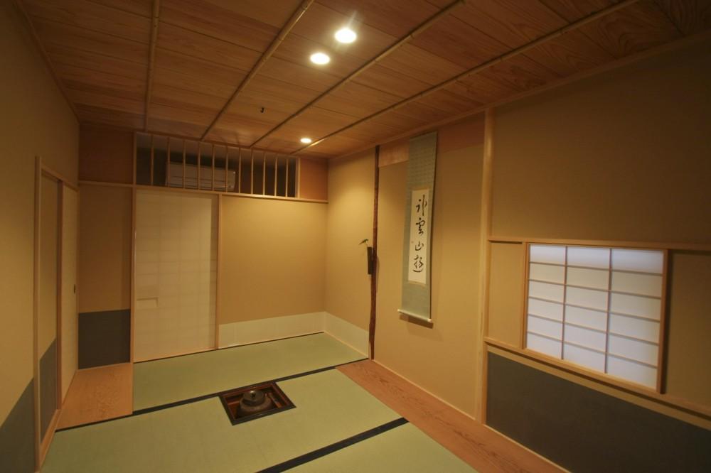 渡辺貞明建築設計事務所「茶室リフォーム ツーバイフォーの洋室をお茶室に」