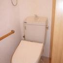 築50年の歴史ある家がまるで新築の写真 洗浄便座付の節水型トイレ