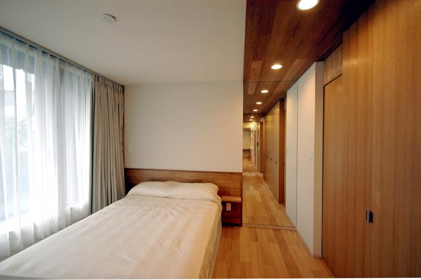 目黒S邸の部屋 主寝室