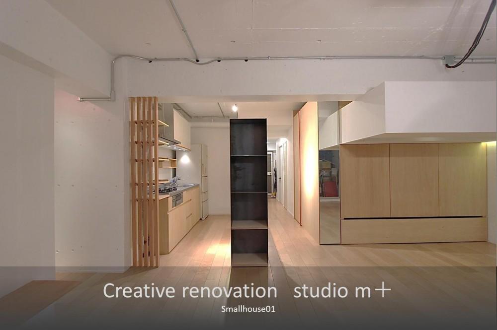 Smallhouse01 「狭小スペースと大収納」 (ダイニング)