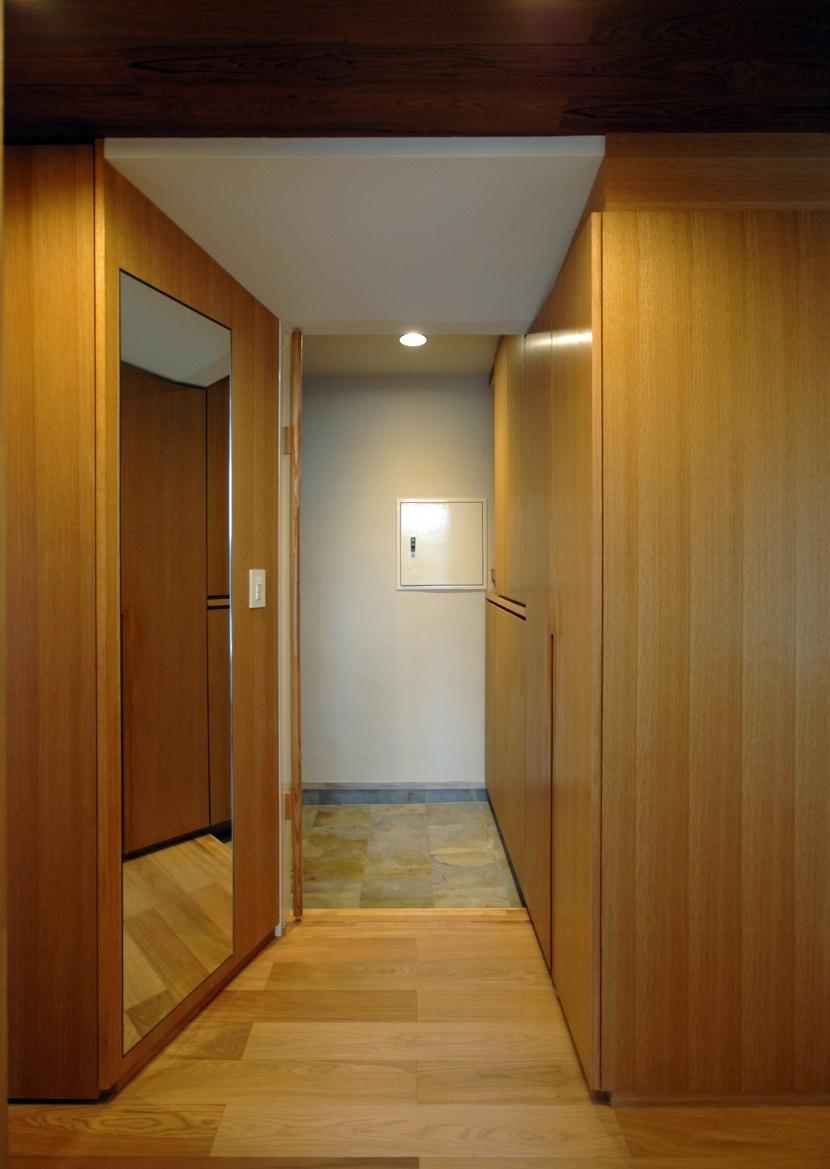 目黒S邸の部屋 玄関