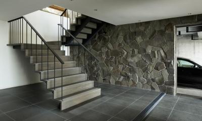 HJ山荘 (玄関・階段1)