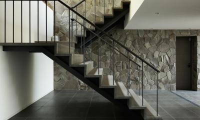 HJ山荘 (玄関・階段2)