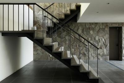玄関・階段2 (HJ山荘)
