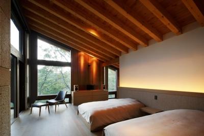 寝室 (YK山荘)