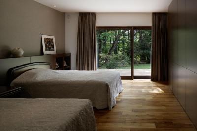 寝室 (M山荘)