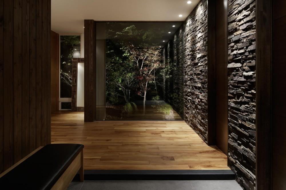 M山荘 (玄関)