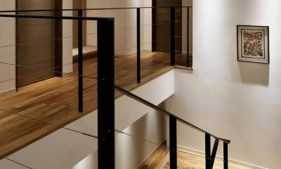 M山荘 (階段)