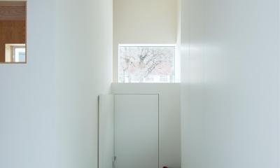 エントランス|白箱の家