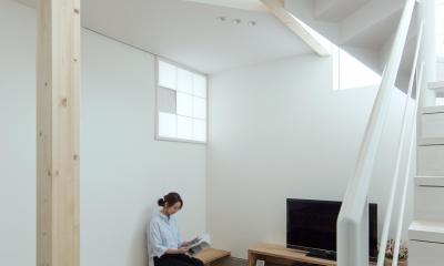 白箱の家 (ホワイエ)