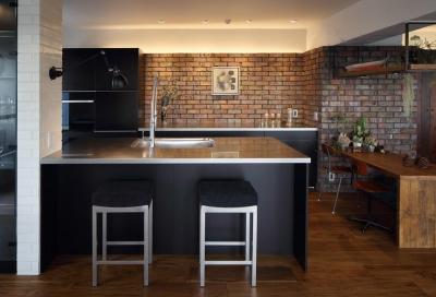 上質なブルックリンスタイル (kitchen)