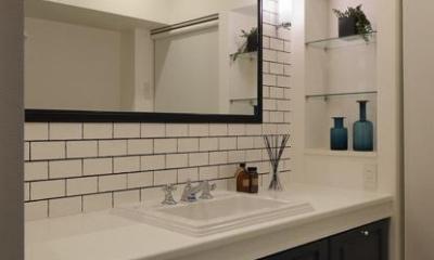 上質なブルックリンスタイル (wash room)