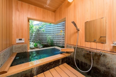 浴室 (暖炉のある家)