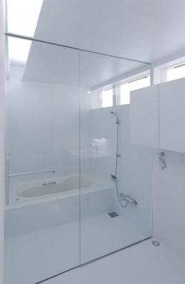 c-house_中庭と一体になるコンクリートの家 (Bathroom)