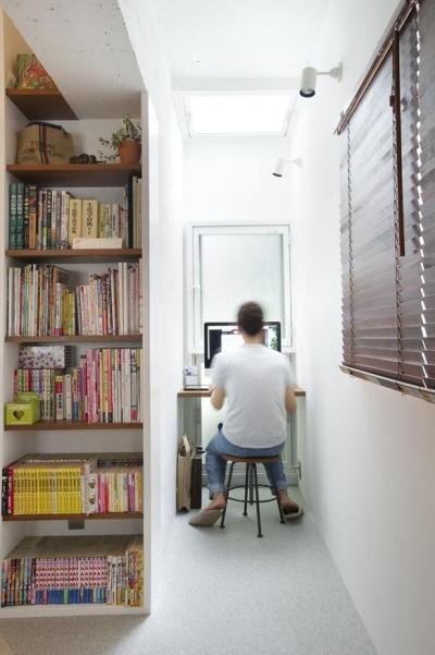 ワークスペース (kemikaー60年代アメリカ映画のオフィスのような部屋)