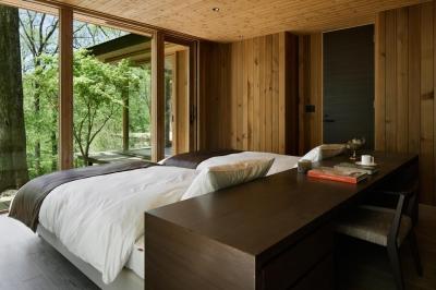 ベッドルーム (吉ヶ沢山荘)