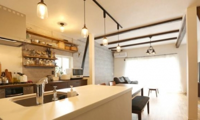 キッチン|INDUSTRIAL HOUSE