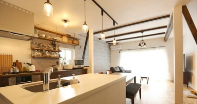 キッチン (INDUSTRIAL HOUSE)