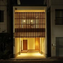 門型フレーム 住宅 (狭小敷地の住宅)