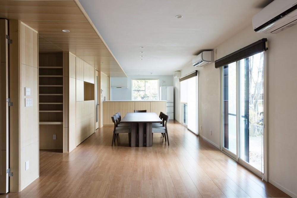 HOUSE I / LEDが広がる家 (LDK(昼))