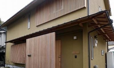 「ひかり降り注ぐ極小二世帯住宅@現代京町家」