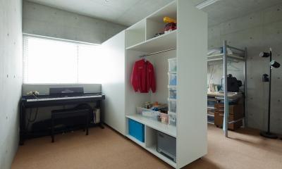 小さくて広い家 (子供部屋)