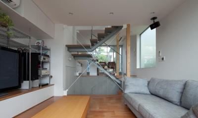 リビング|小さくて広い家