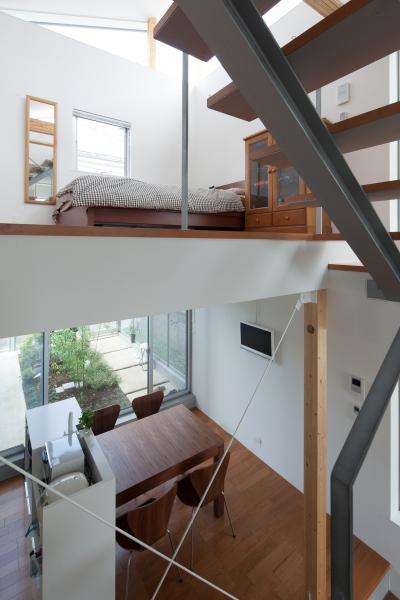 小さくて広い家 (階段)