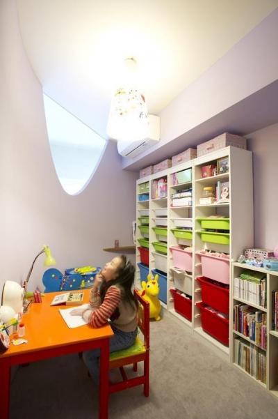 子ども部屋 (Cucumber—そこにいたくなる楽しい子ども部屋)