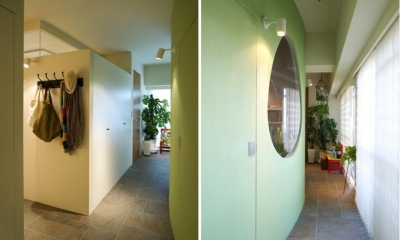 Cucumber—そこにいたくなる楽しい子ども部屋 (廊下)