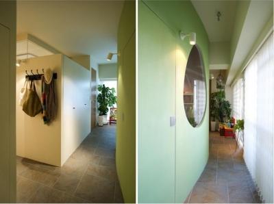 廊下 (Cucumber—そこにいたくなる楽しい子ども部屋)